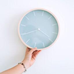 Cambio de hora en jornada laboral
