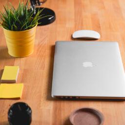 Mesa de oficina escritorio futurista